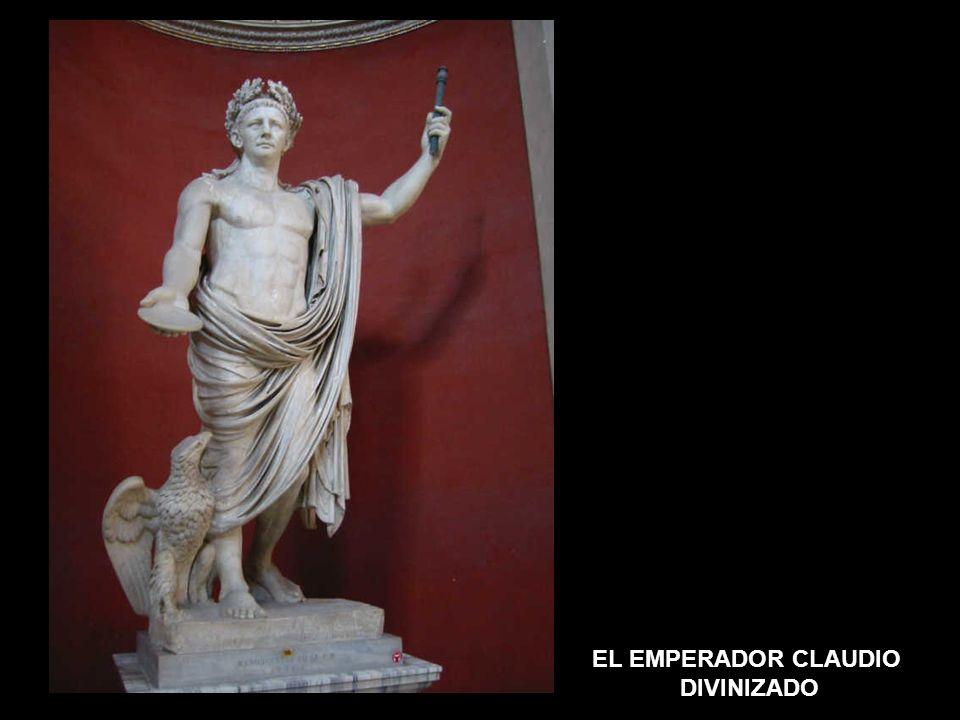 EL EMPERADOR CLAUDIO DIVINIZADO