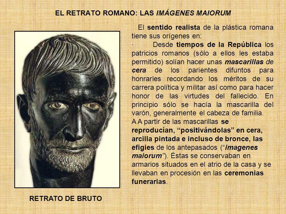EL RETRATO ROMANO: LAS IMÁGENES MAIORUM