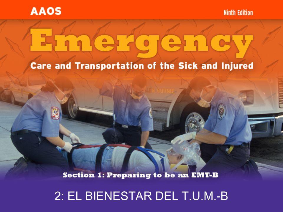 2: EL BIENESTAR DEL T.U.M.-B