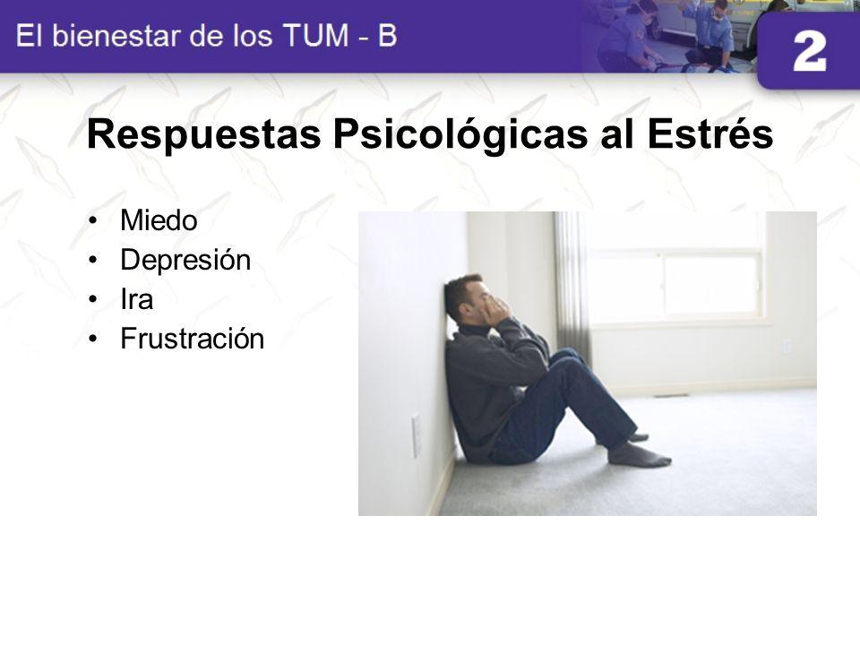Respuestas Psicológicas al Estrés