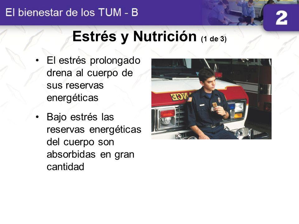 Estrés y Nutrición (1 de 3)