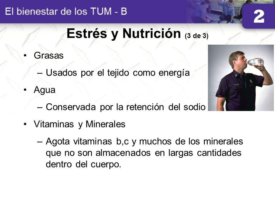 Estrés y Nutrición (3 de 3)