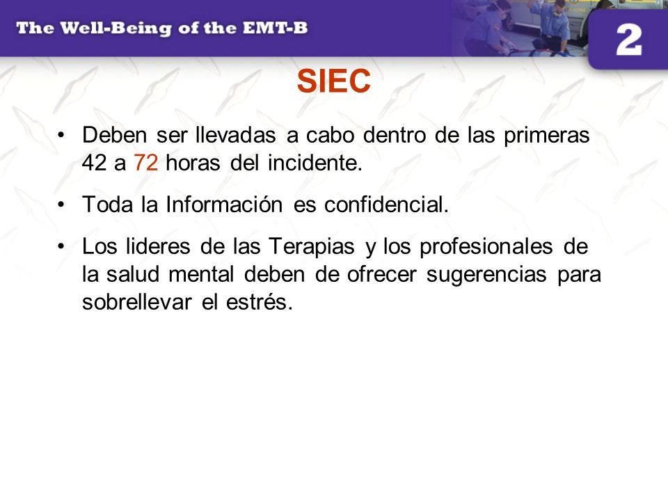 SIECDeben ser llevadas a cabo dentro de las primeras 42 a 72 horas del incidente. Toda la Información es confidencial.