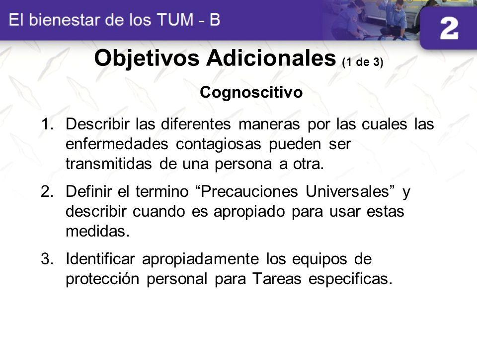 Objetivos Adicionales (1 de 3)