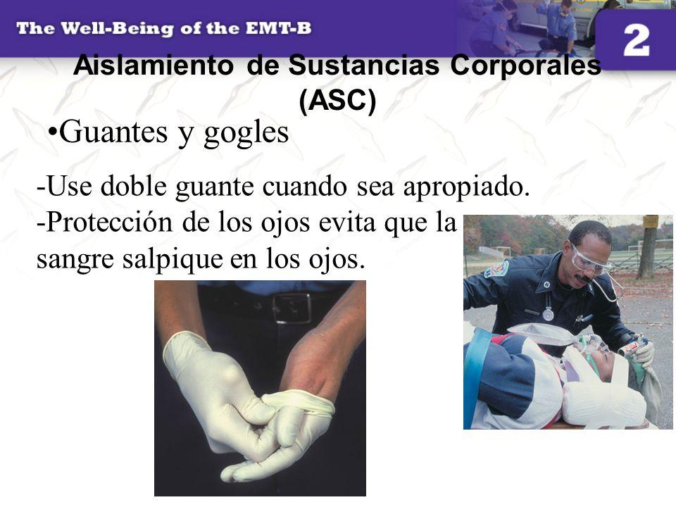 Aislamiento de Sustancias Corporales (ASC)