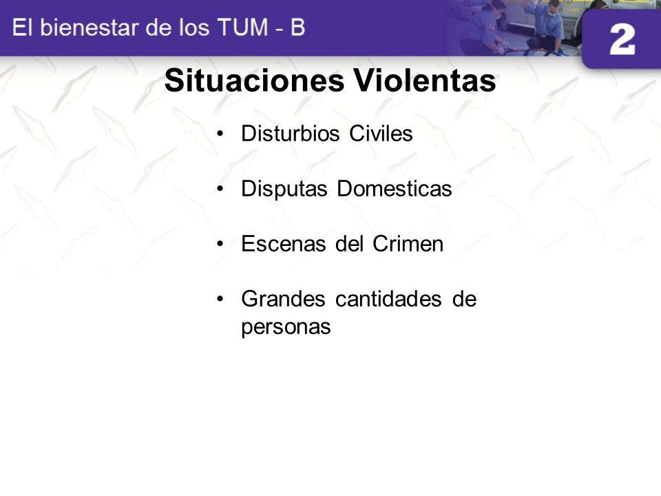 Situaciones Violentas
