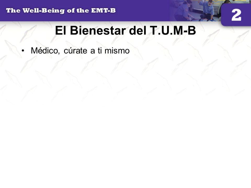 El Bienestar del T.U.M-B Médico, cúrate a ti mismo