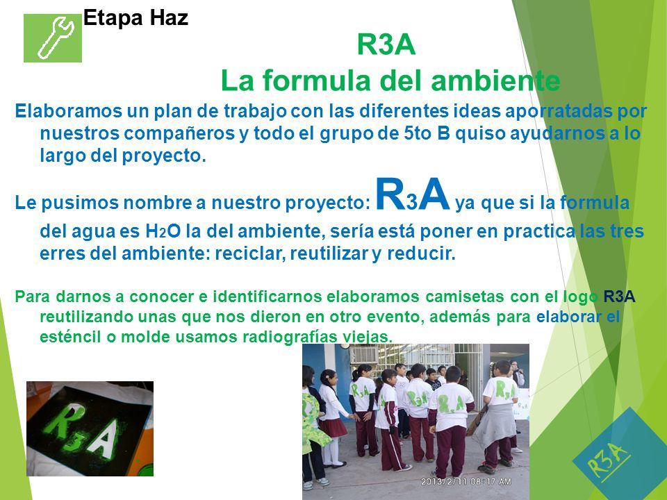 R3A La formula del ambiente
