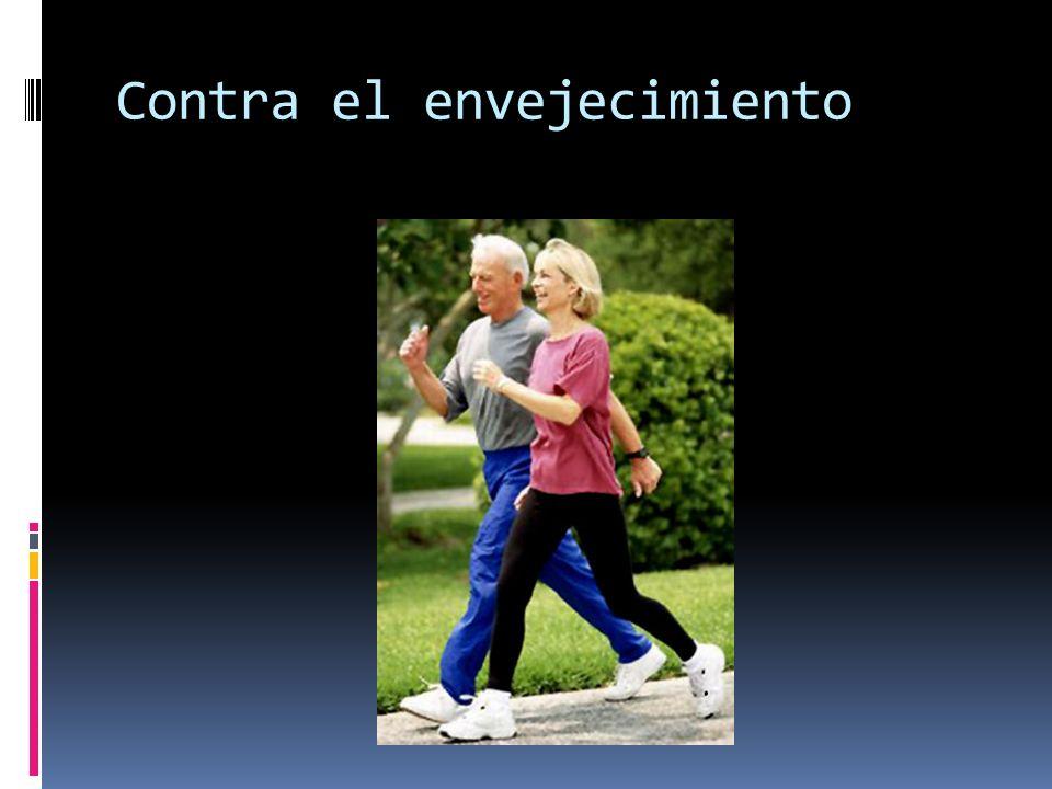 Contra el envejecimiento
