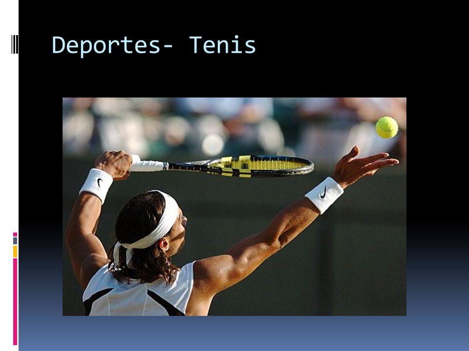 Deportes- Tenis