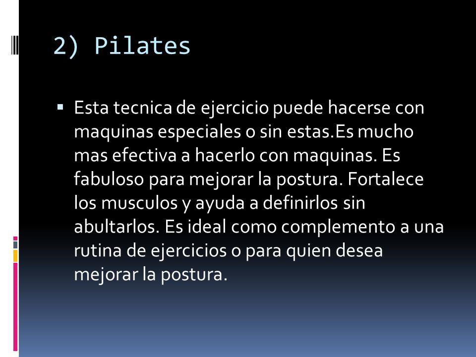 2) Pilates