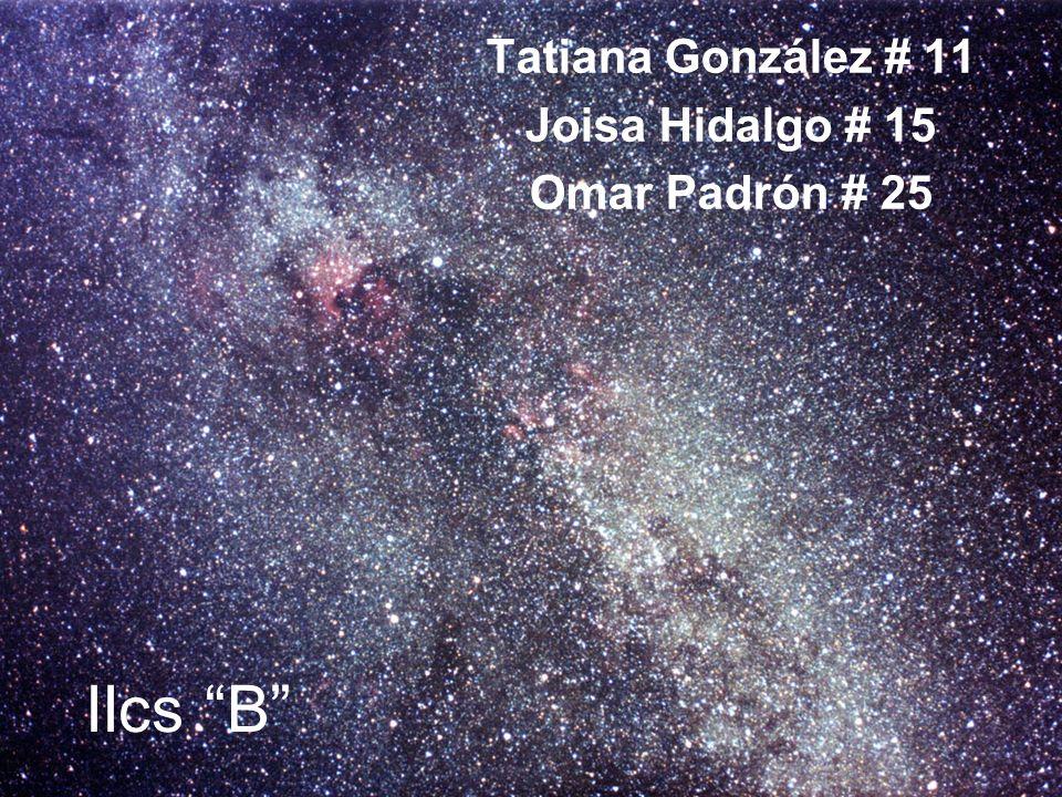Tatiana González # 11 Joisa Hidalgo # 15 Omar Padrón # 25 IIcs B