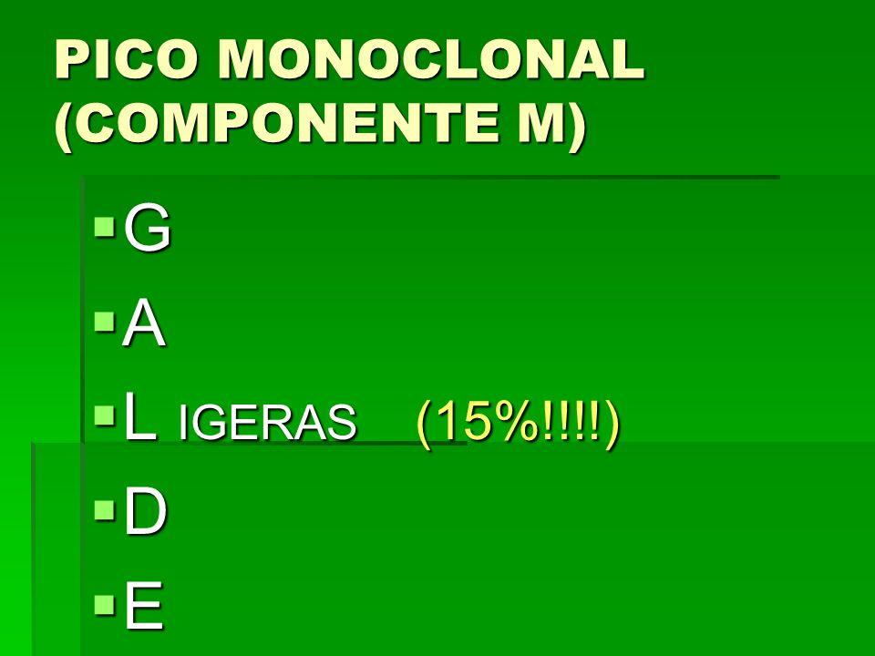 PICO MONOCLONAL (COMPONENTE M)