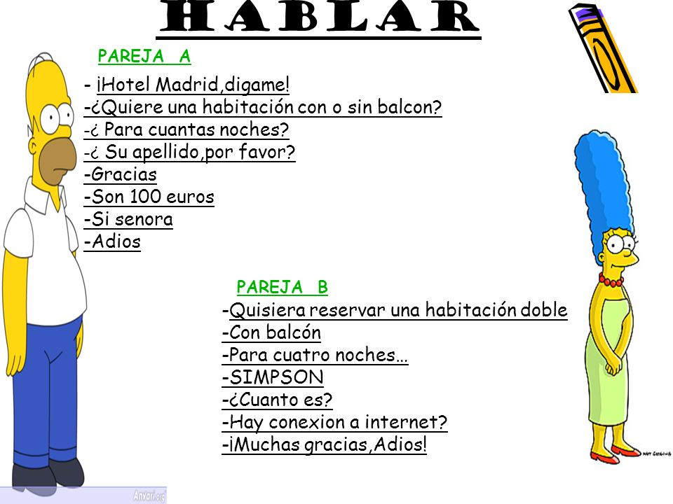 HABLAR - ¡Hotel Madrid,digame!