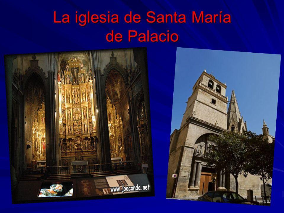 La iglesia de Santa María de Palacio