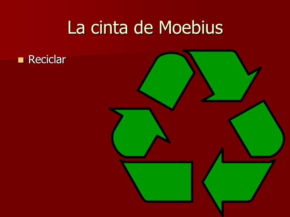 La cinta de Moebius Reciclar