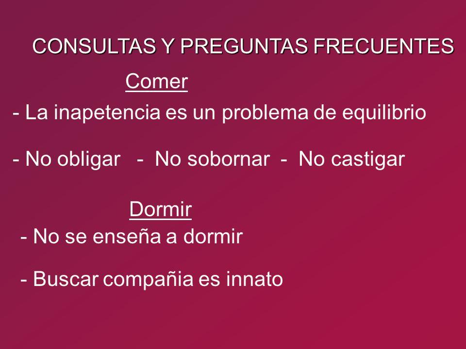 CONSULTAS Y PREGUNTAS FRECUENTES