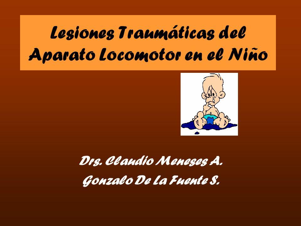 Lesiones Traumáticas del Aparato Locomotor en el Niño