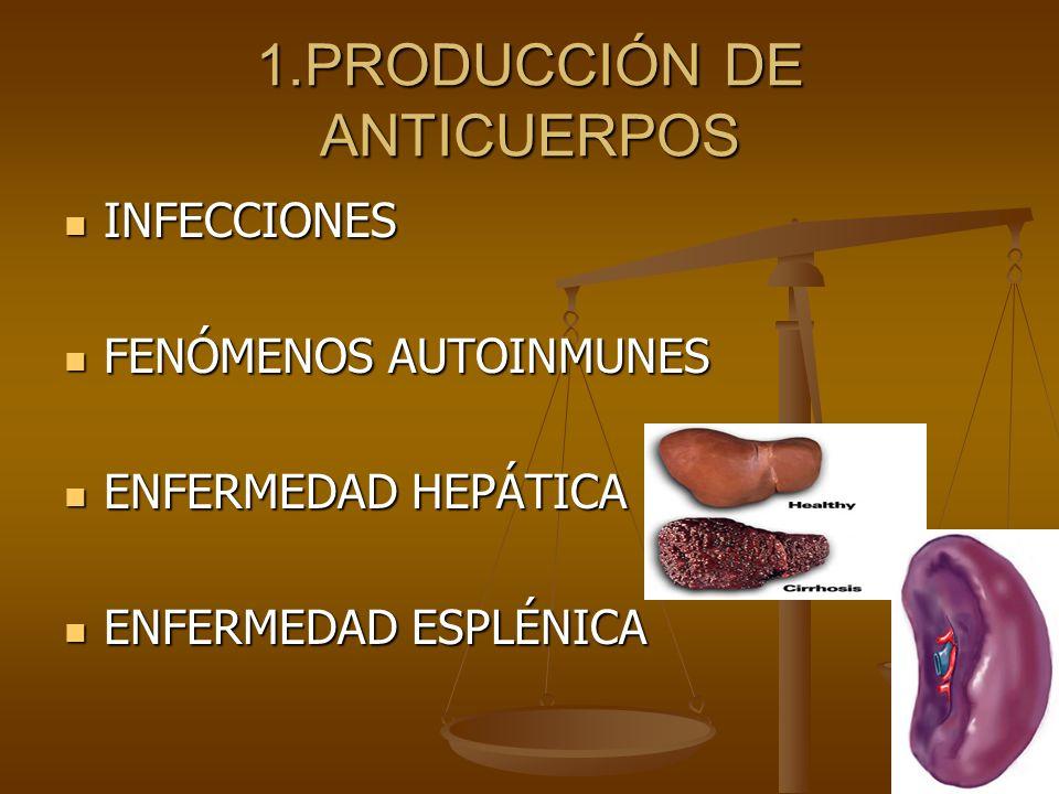 1.PRODUCCIÓN DE ANTICUERPOS