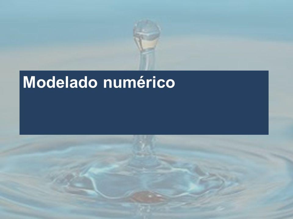Modelado numérico Los resultados obtenidos son a partir del análisis geoestadístico de la base de datos con 332 registros del año 2004.