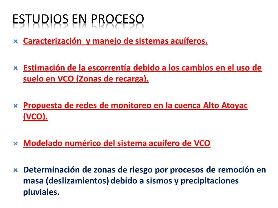 OBJETIVO GENERAL Estudios en proceso