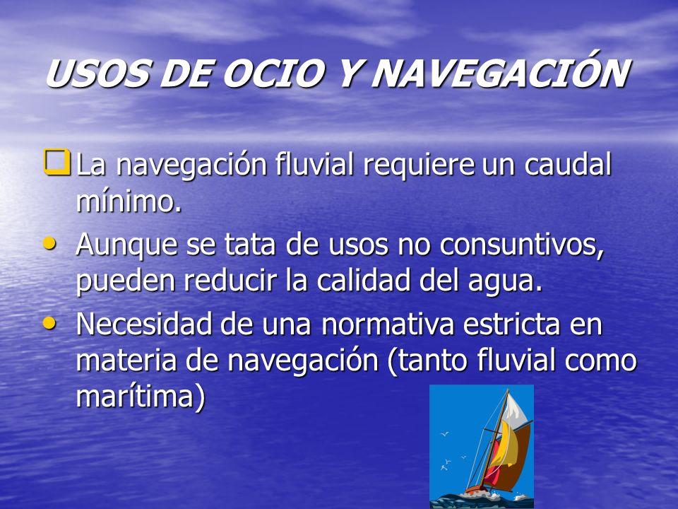 USOS DE OCIO Y NAVEGACIÓN