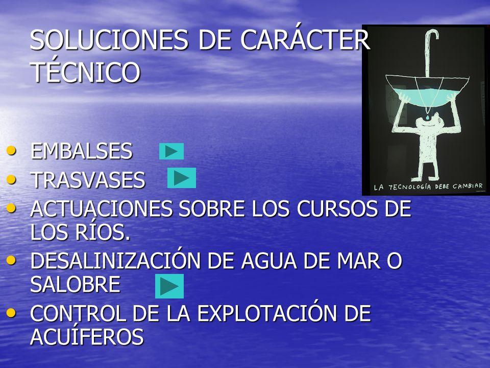 SOLUCIONES DE CARÁCTER TÉCNICO