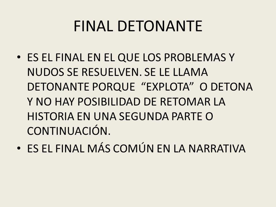FINAL DETONANTE