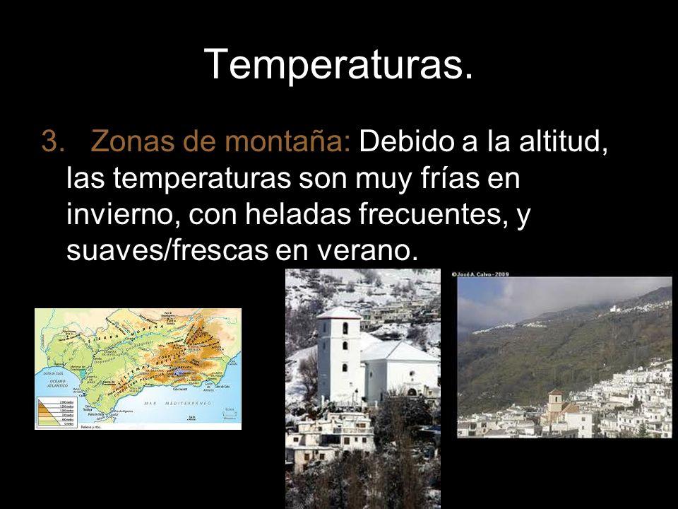 Temperaturas.