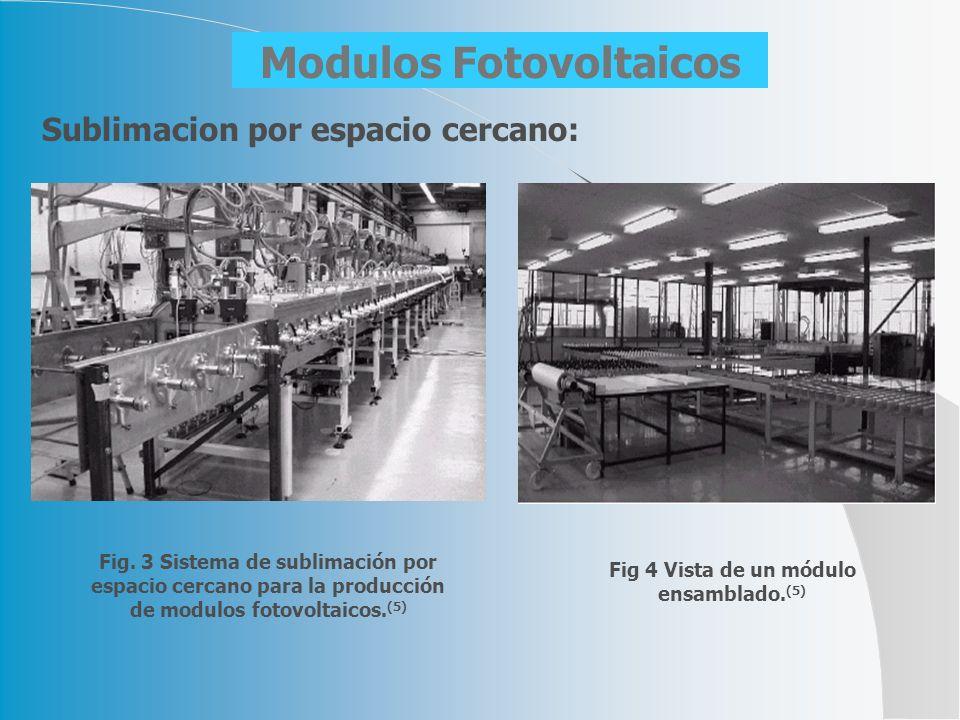 Modulos Fotovoltaicos Fig 4 Vista de un módulo ensamblado.(5)