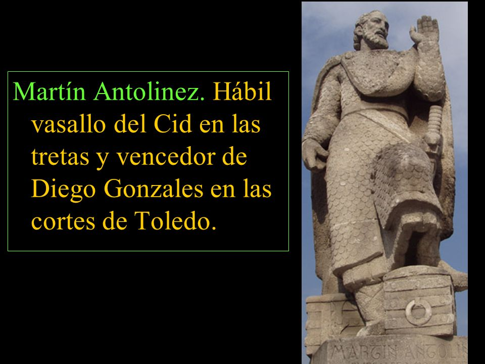 Martín Antolinez.