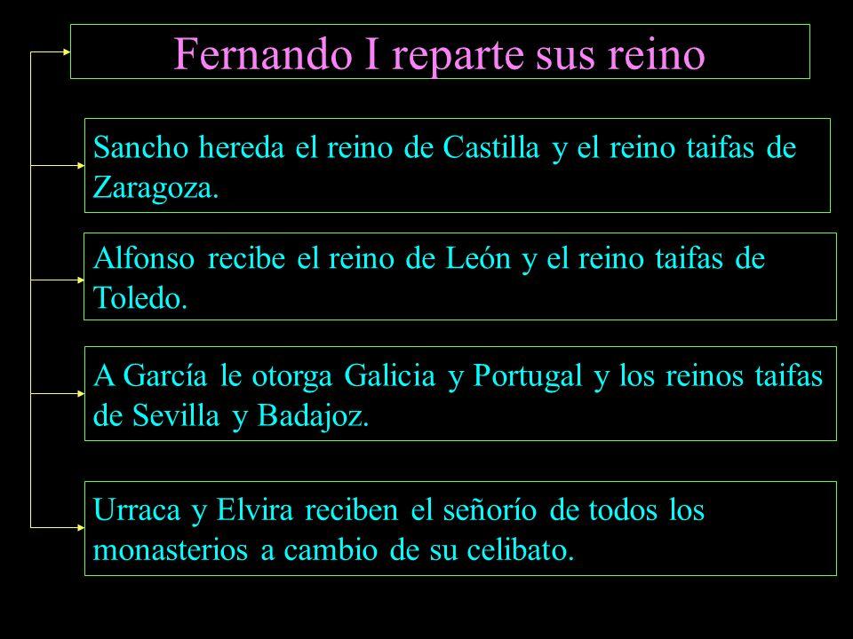 Fernando I reparte sus reino