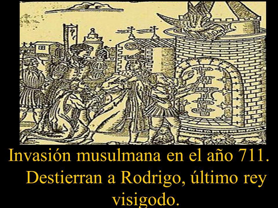 Invasión musulmana en el año 711