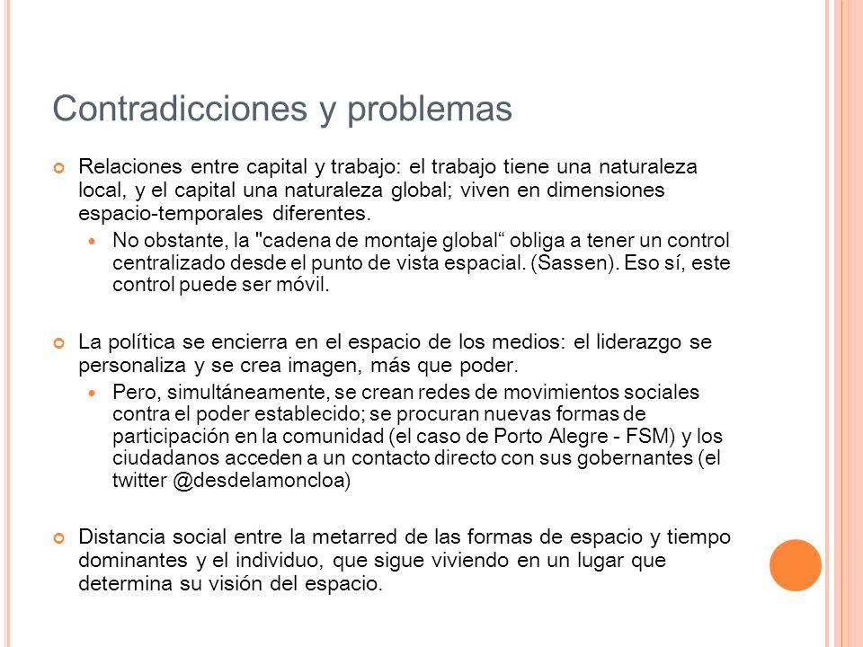 Contradicciones y problemas