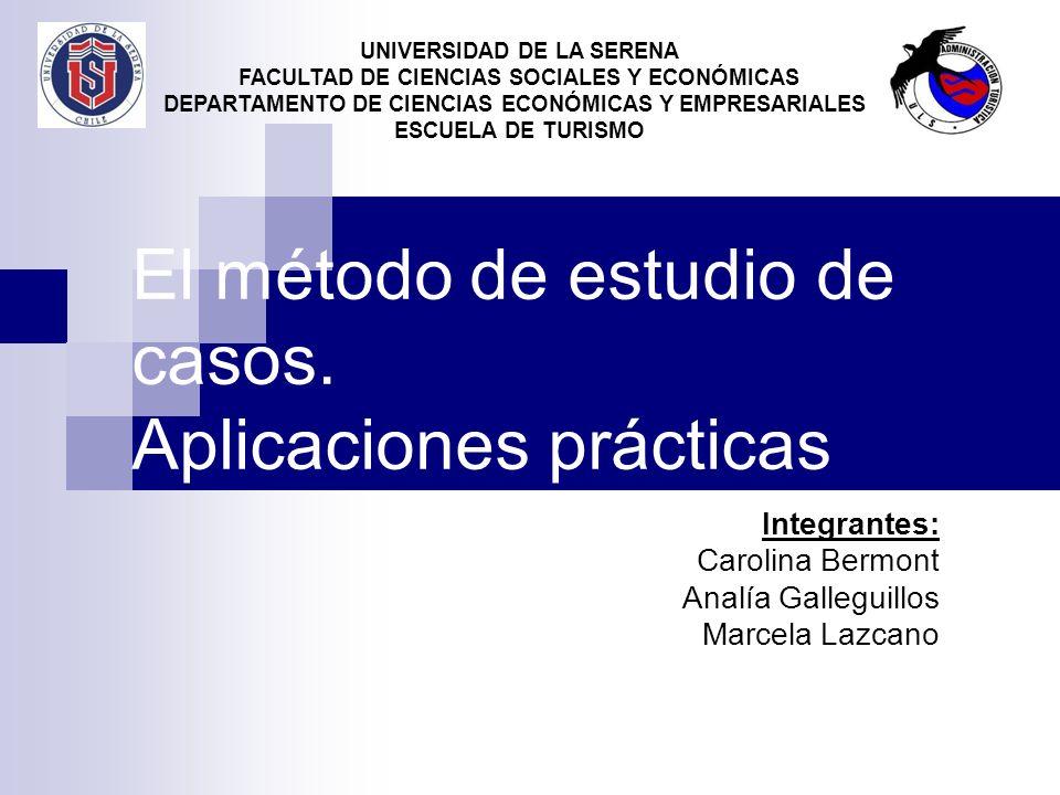 El método de estudio de casos. Aplicaciones prácticas