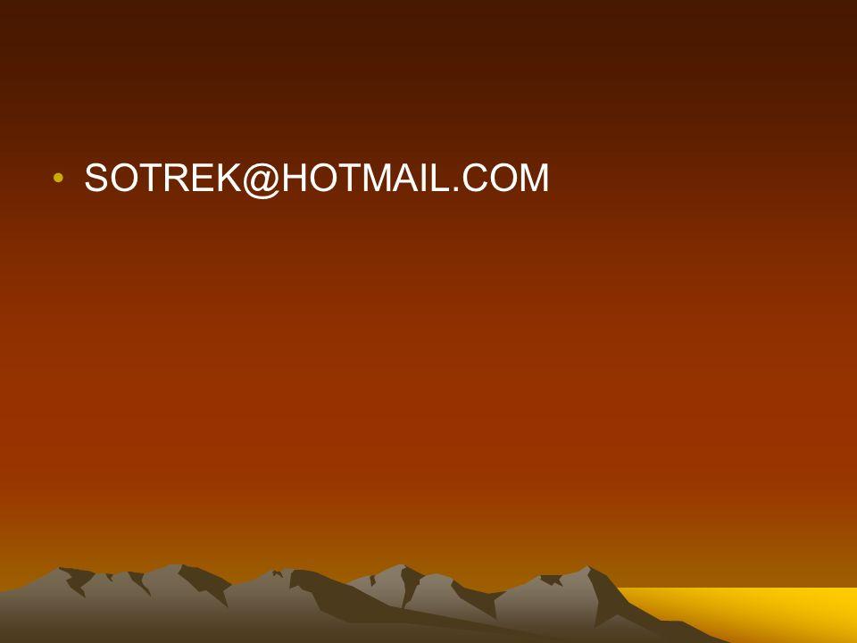 SOTREK@HOTMAIL.COM