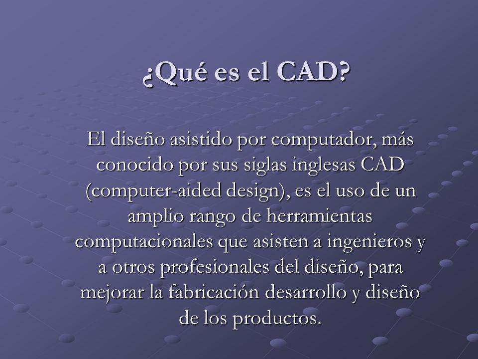 ¿Qué es el CAD