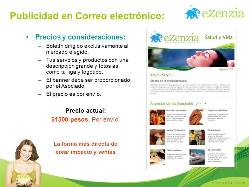 Publicidad en Correo electrónico: