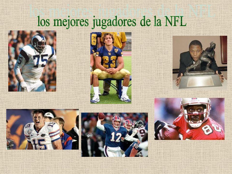 los mejores jugadores de la NFL