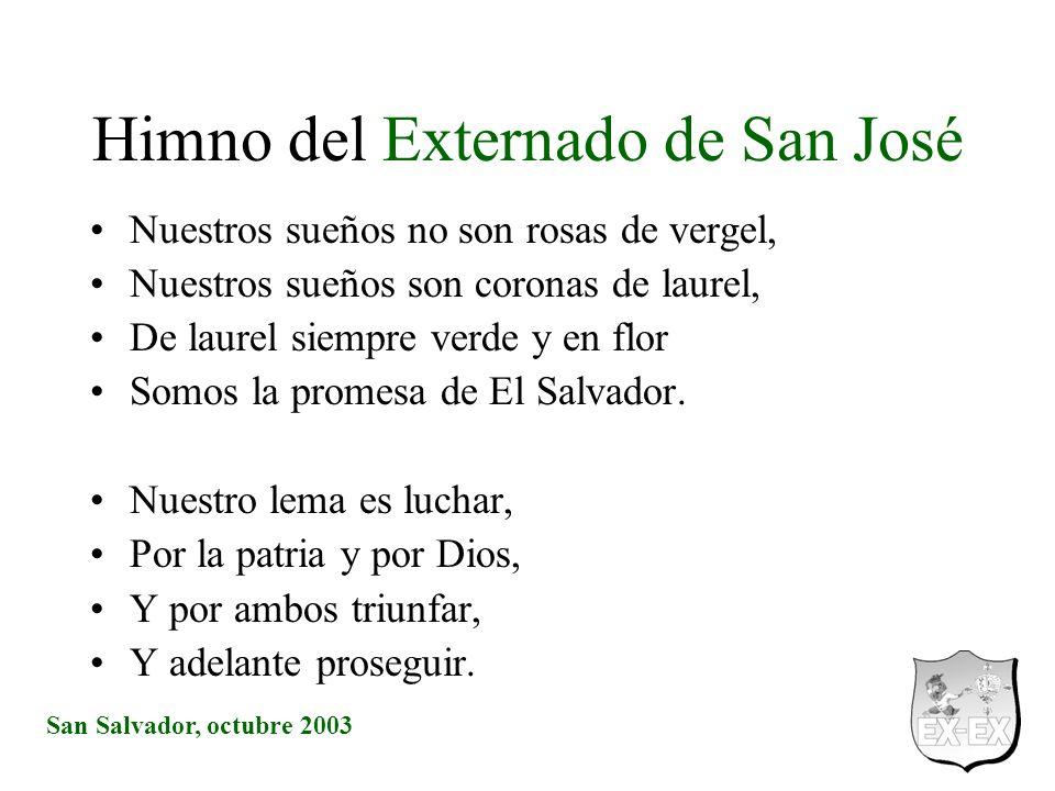 Himno del Externado de San José