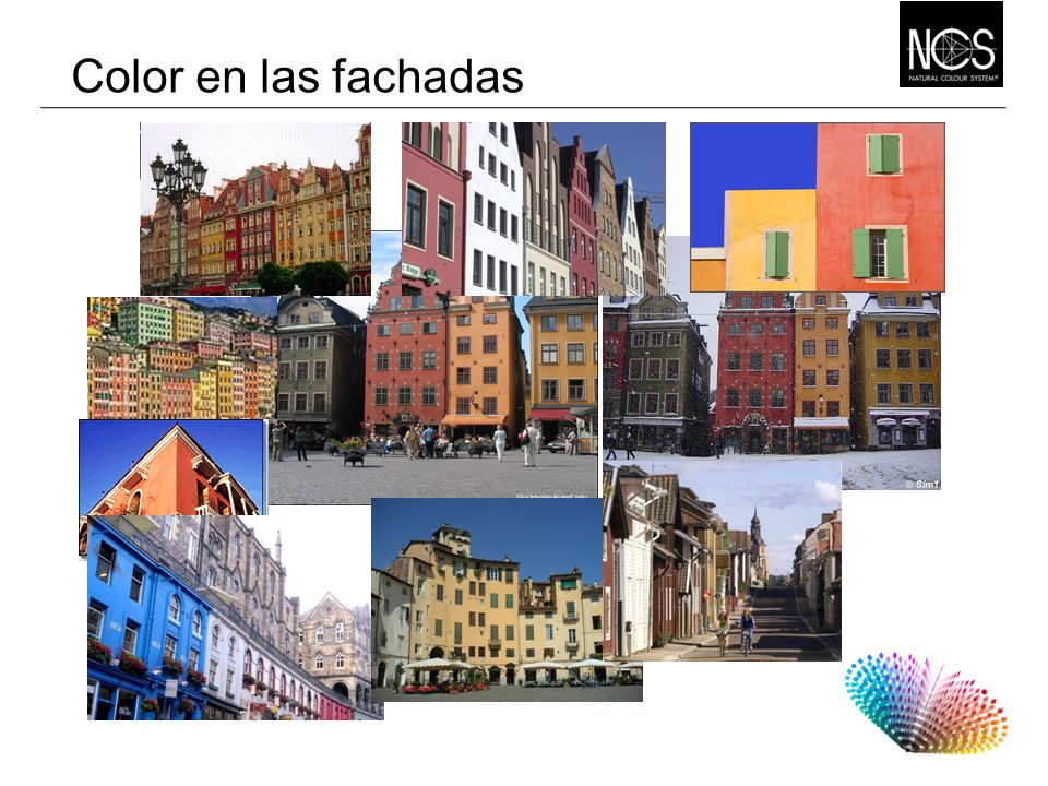 Color en las fachadas