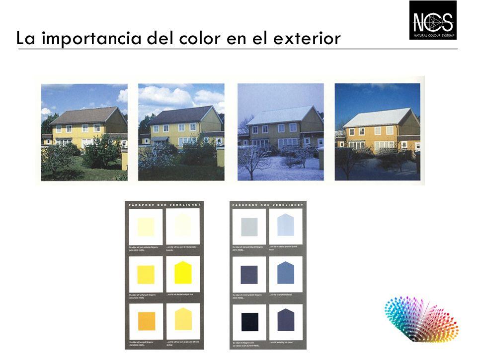 La importancia del color en el exterior