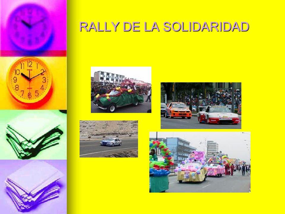 RALLY DE LA SOLIDARIDAD