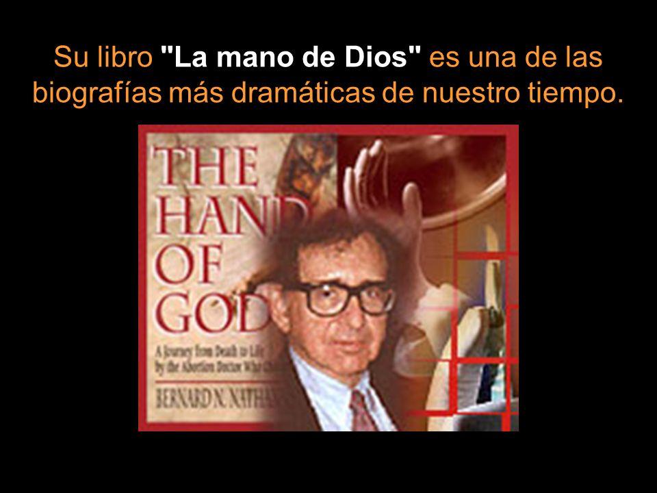 Su libro La mano de Dios es una de las biografías más dramáticas de nuestro tiempo.