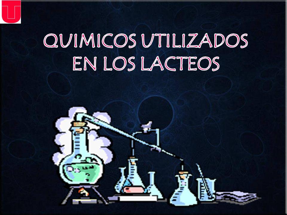 QUIMICOS UTILIZADOS EN LOS LACTEOS