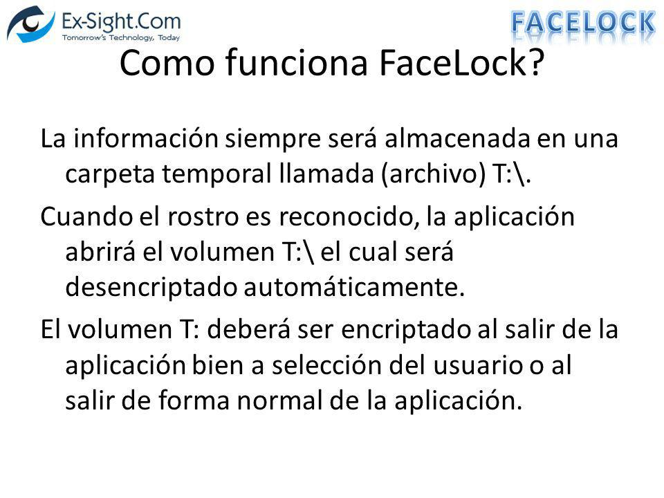 Como funciona FaceLock