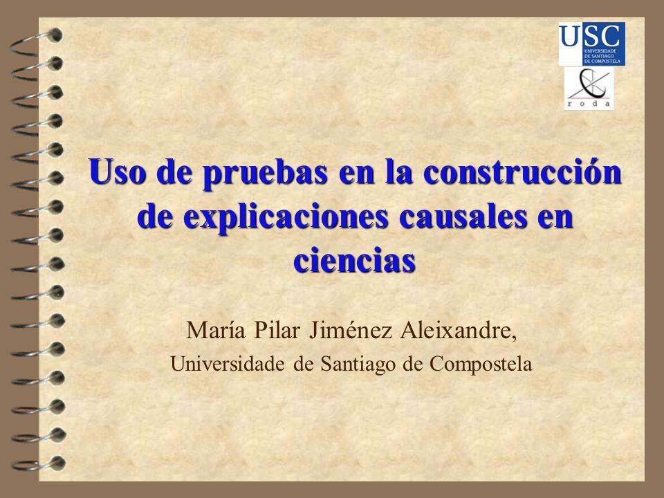 María Pilar Jiménez Aleixandre, Universidade de Santiago de Compostela