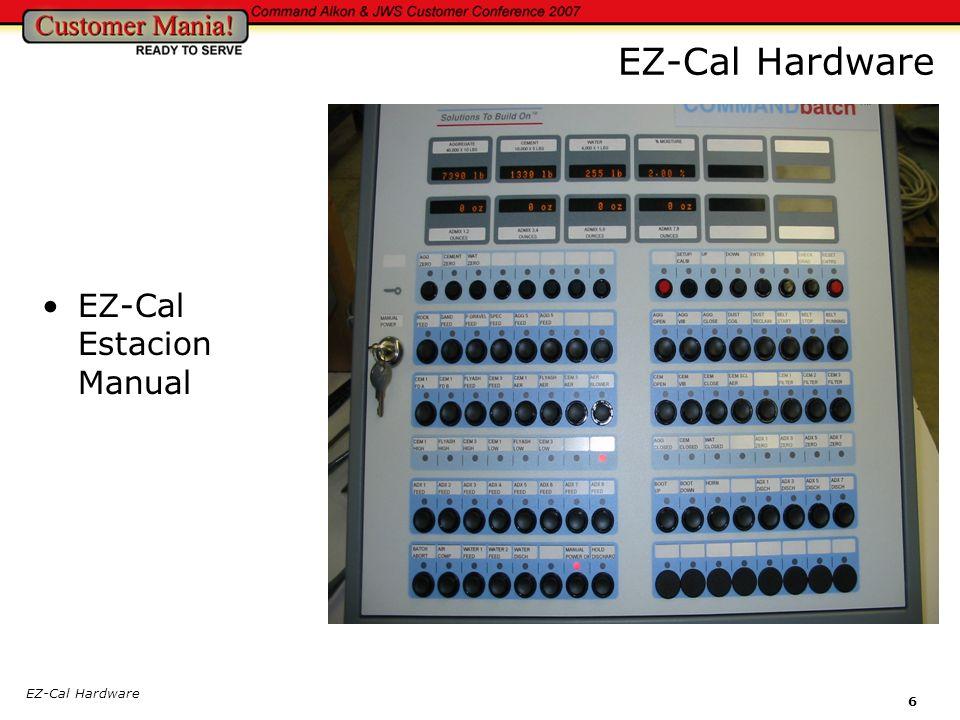 EZ-Cal Hardware EZ-Cal Estacion Manual EZ-Cal Hardware