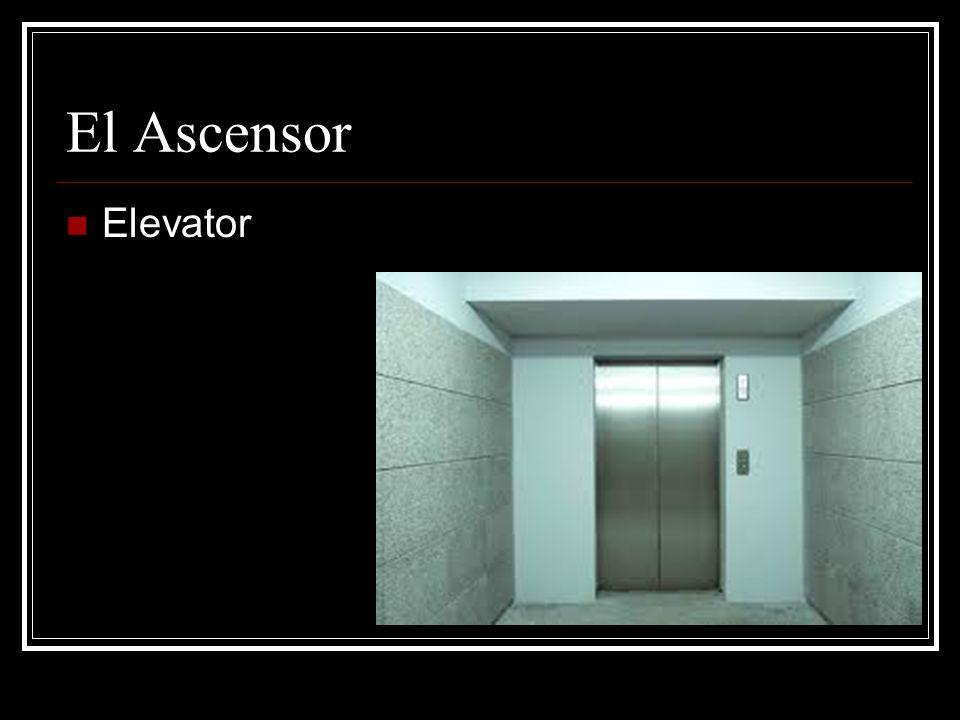 El Ascensor Elevator