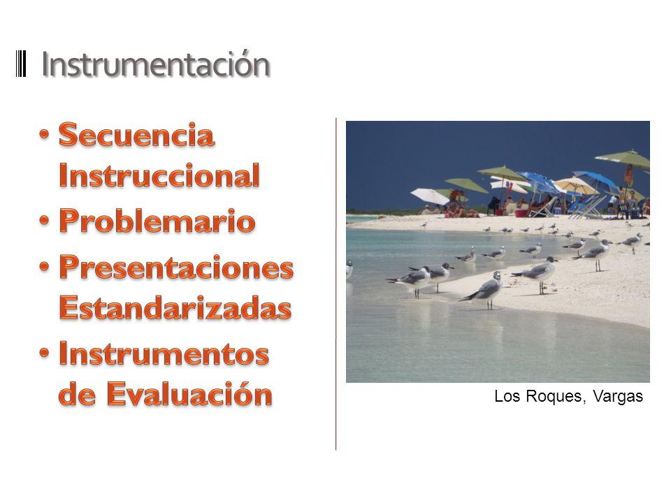 Instrumentación Secuencia Instruccional Problemario